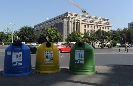 România reciclează doar 1% din deşeurile recuperabile. Belgia, 94%