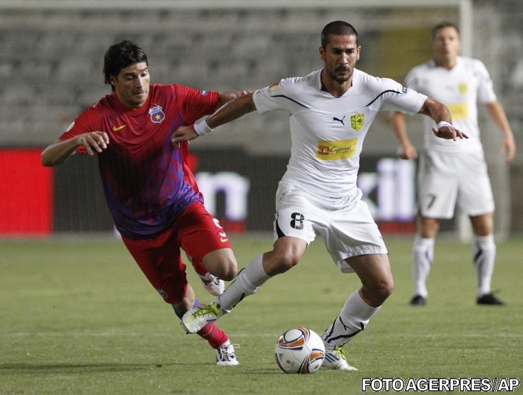 Steaua nu reuşeşte decât o remiză în Cipru, 1-1 cu AEK Larnaka