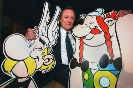 """Creatorul benzilor desenate """"Asterix şi Obelix"""" se retrage din activitate la vârsta de 84 de ani"""