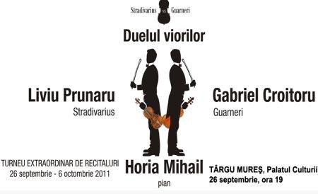 Duelul viorilor – Stradivarius sau Guarnieri ? La Bucureşti bilete suplimentare!