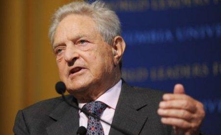 George Soros: Pieţele financiare împing lumea în depresiune. Politicienii au pierdut controlul crizei economice