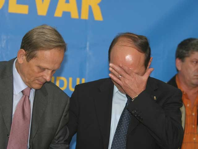 Traian Băsescu - un preşedinte sensibil