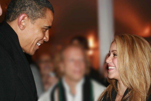 Barack Obama va fi consiliat de Shakira