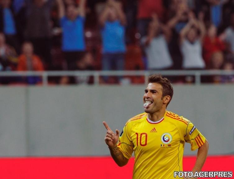 România - Belarus 2-2: Mutu reuşeşte o dublă şi se apropie de recordul lui Hagi
