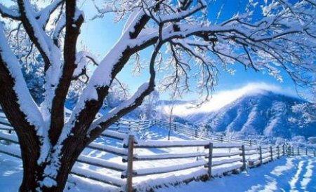 Iarna îşi face apariţia: A căzut prima ninsoare la munte