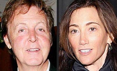 Paul McCartney s-a căsătorit cu americanca Nancy Shevell