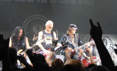Scorpions a încins 40.000 de fani, la concertul din Cluj. Vezi imagini de la eveniment