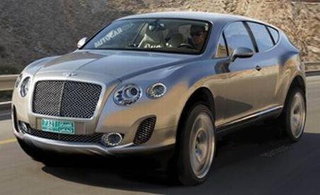 Bentley lucrează la primul său SUV, un monstru de lux cu propulsor W12