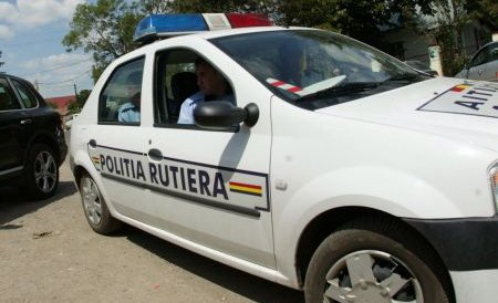 Arad. Un șofer a fost filmat de radar în timp ce circula prin oraș cu 131 de km/h