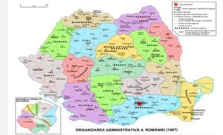 Ne întoarcem în anii 60! Vezi harta pe care PDL ar vrea să negocieze cu UDMR reorganizarea teritorială