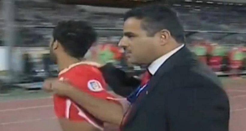 Un fotbalist din Bahrain a fost eliminat după numai 43 de secunde