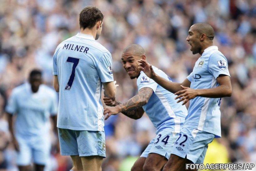 Premier League: Manchester City este noul lider, după 4-1 cu Aston Villa