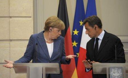 Angela Merkel şi Nicolas Sarkozy: Negocierile pentru salvarea Greciei progresează