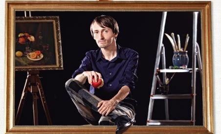 Daniel Relenschi, primul pictor care a realizat un tablou 3D pe pânză
