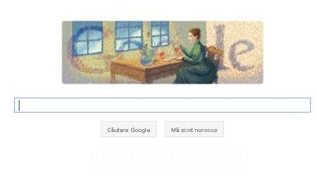 Google îi aduce un omagiu savantei Marie Curie