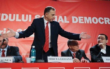 Surse: Geoană ar putea înfiinţa un partid dacă e exclus din PSD