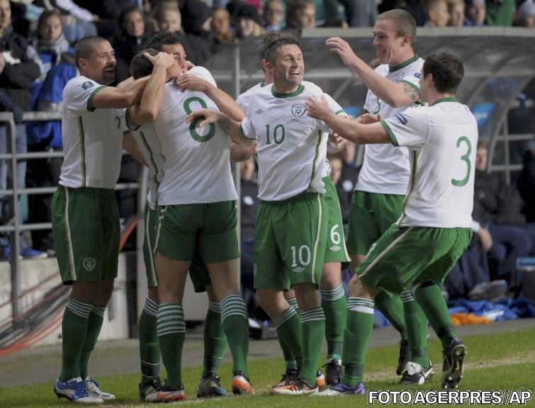 Baraj preliminarii EURO 2012: Victorii clare pentru Croaţia şi Irlanda. Remiză albă în derbyul Bosnia-Portugalia