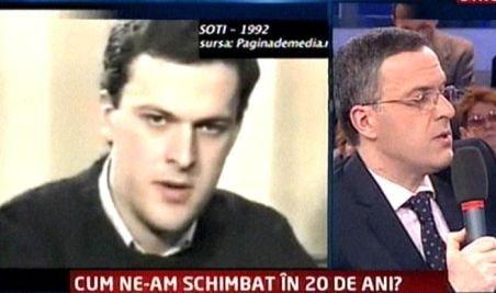 Mircea Badea, Răzvan Dumitrescu, Andreea Berecleanu şi Denisa Ţicu la începuturile lor în televiziune