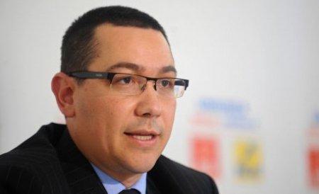 Victor Ponta: Ar fi trebuit ca oamenii să aibă de mâncarea acasă la ei, nu să le dea Băsescu fasole