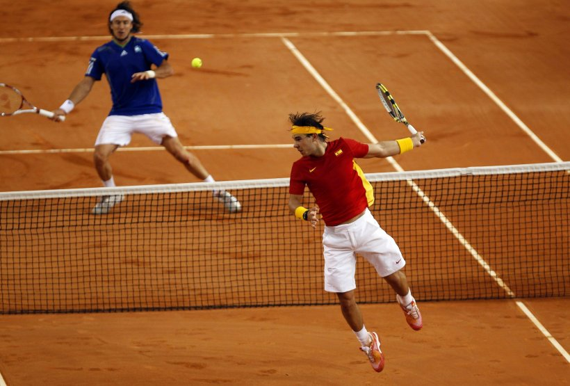 Spania conduce după prima zi a finalei Cupei Davis cu 2-0 în faţa Argentinei