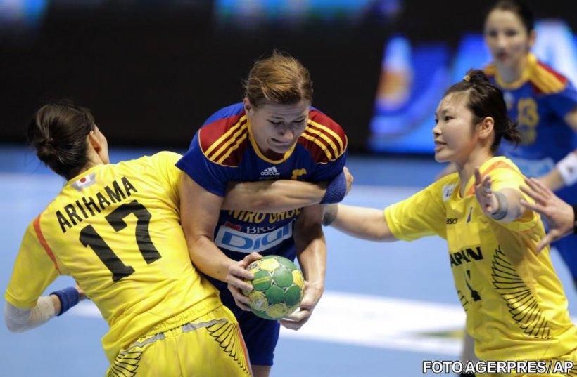 România nu a reuşit decât o remiză cu Japonia la CM de handbal feminin, dar s-a calificat în optimi
