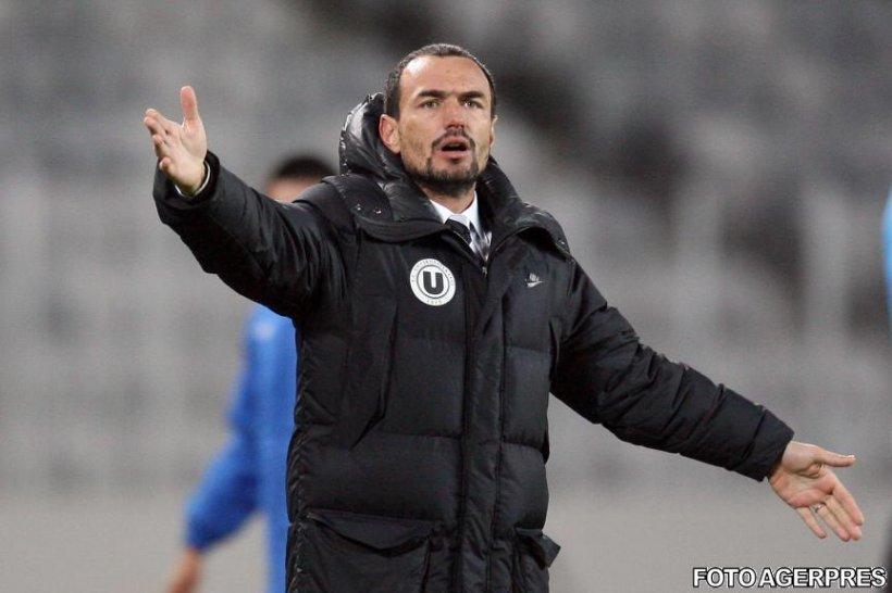 Înfrângerea cu FC Vaslui i-a fost fatală: Ionuţ Badea, demis de la Universitatea Cluj