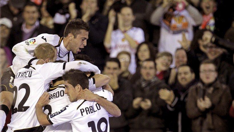 Valencia învinge la limită pe Sevilla, în meciul tur din optimile de finală ale Cupa Regelui