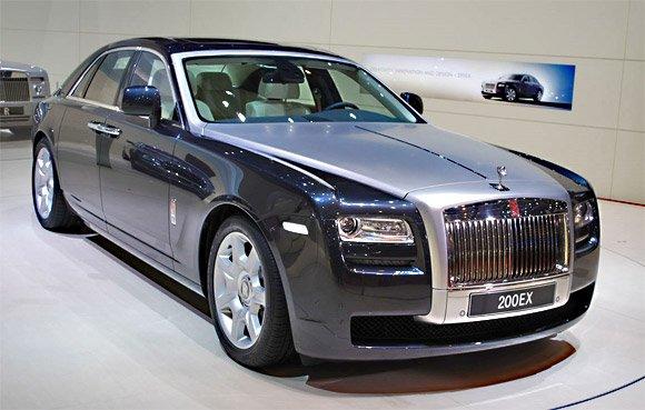 Vânzări record la Rolls-Royce: 3.538 de automobile vândute în 2011