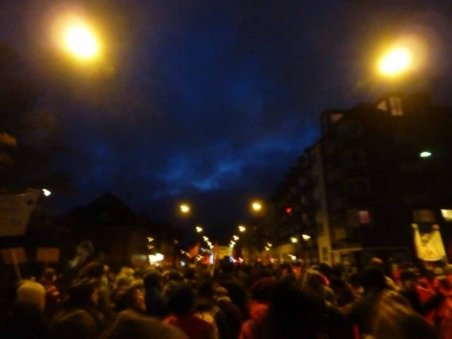 Protestul de la Palatul Cotroceni a dus la blocarea a 15 troleibuze