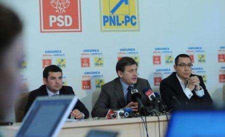 USL: Băsescu nu a avut nici un cuvânt pentru protestatari, dar a atacat incalificabil opoziţia