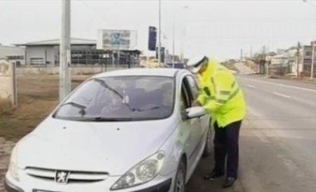 Un italian a rămas fără permis după ce a condus pe A1 cu 201 km/h