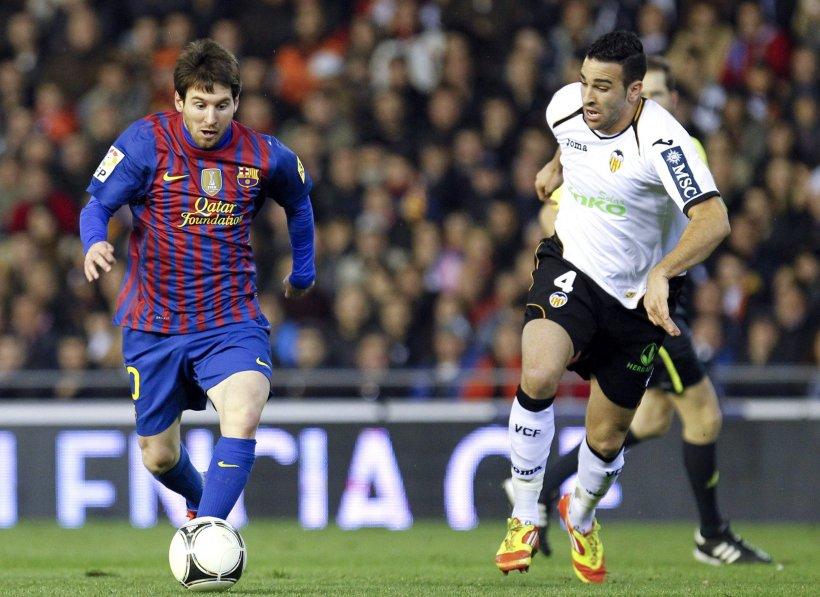 Valencia şi FC Barcelona au încheiat la egalitate meciul tur din semifinalele Cupei Regelui