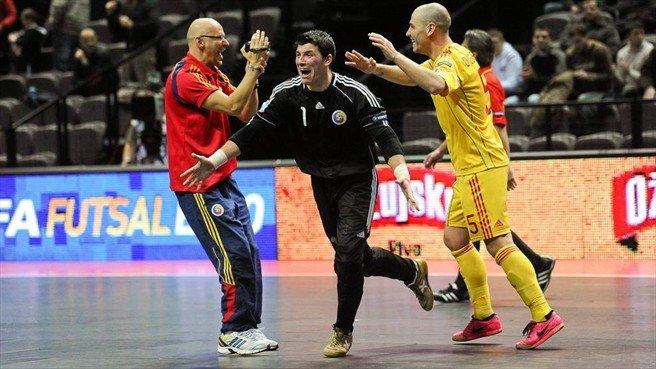 România s-a calificat în sferturile de finală ale Campionatului European de futsal