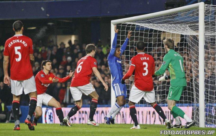Manchester United a revenit de la 0-3 și a plecat cu un punct de la Chelsea