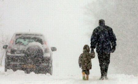 Cea mai grea iarnă din ultimele decenii. Căderi masive de zăpadă şi temperaturi demne de era glaciară