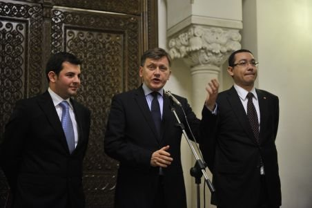 Liderii USL nu văd cu ochi buni numirea lui Mihai Răzvan Ungureanu în funcţia de prim-ministru