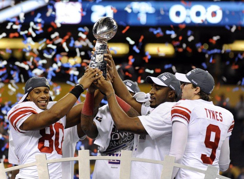 New York Giants a învins cu 21-17 pe New England Patriots în Super Bowl