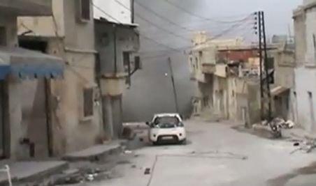 Bombardamentul orașului Homs continuă, în timp ce ministrul de externe rus este aștepat în Siria