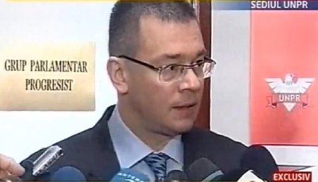 Ungureanu, după discuţiile cu UNPR: Am susţinere din partea formaţiunii