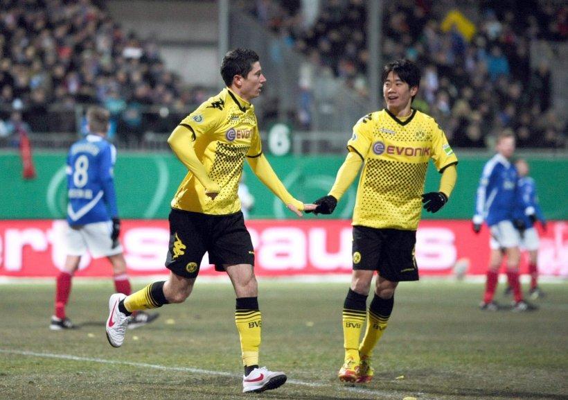 Borussia Dortmund s-a calificat fără emoţii în semifinalele Cupei Germaniei