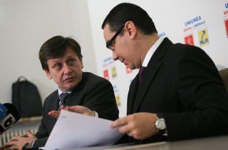 Antonescu: Ponta a vorbit în plen în numele USL. Fondul nostru de poziţii rămâne comun