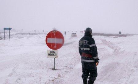 Circulaţie închisă pe A2 Bucureşti-Feteşti şi pe 25 de drumuri naţionale. Vezi lista completă