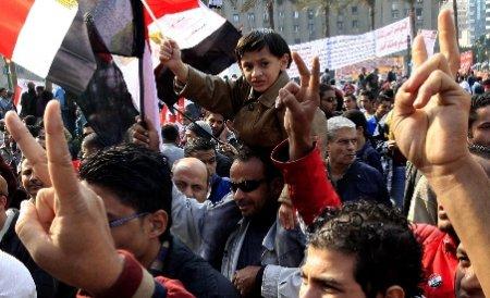 Egiptenii marchează un an de la înlăturarea lui Hosni Mubarak