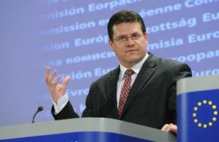 Maros Sefcovic, comisar UE: România şi Bulgaria aparţin spaţiului Schengen