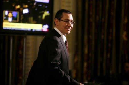 Ponta îi promite lui Ungureanu că USL îl va sprijini în 15 proiecte europene şi sociale