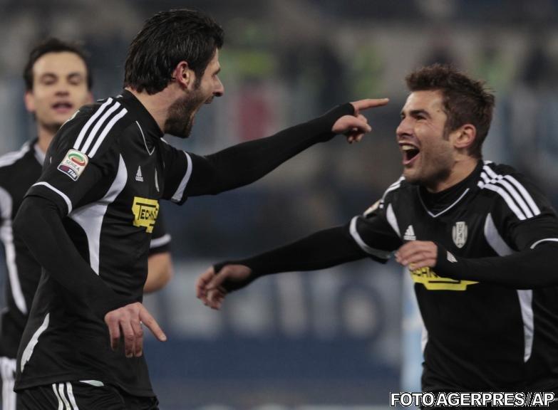 Adrian Mutu a marcat un gol şi a scos un penalty, însă Cesena a pierdut cu Lazio