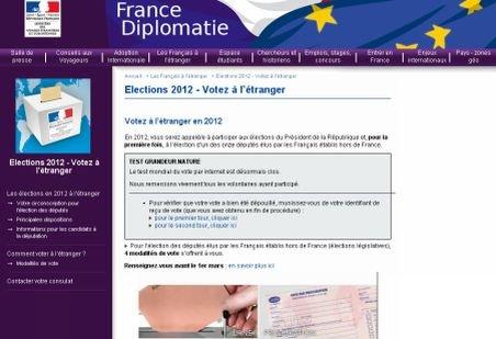 Alegătorii francezi din străinătate îşi vor alege parlamentarii printr-un vot pe Internet