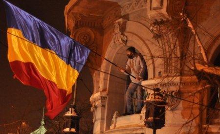 Avramuţă, stegarul Pieţei Universităţii: Am ieşit în stradă mânat de dorinţa de adevăr