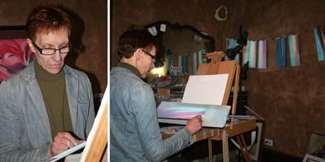 Şi-a descoperit simţul artistic după ce a scăpat de două tumori cerebrale