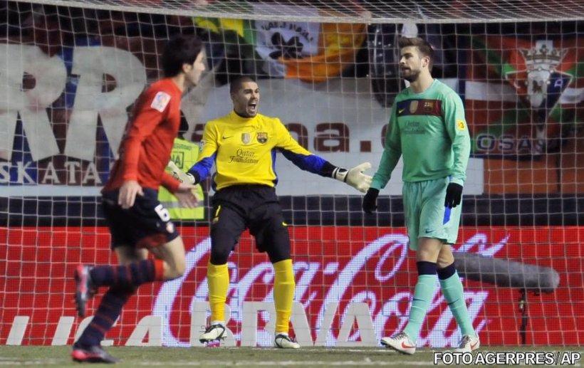 Adio titlu? Barcelona pierde cu Osasuna şi permite Realului să ia un avans de zece puncte